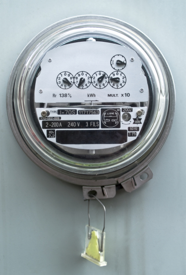 electricmeter How One Sentence Can Save Someone $600 In Utility Bills.